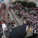 龍山會の見どころ!大蛇山大集合パレード