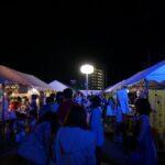 新栄町の祭り会場は小さいお子さん連れでも安心して楽しめます