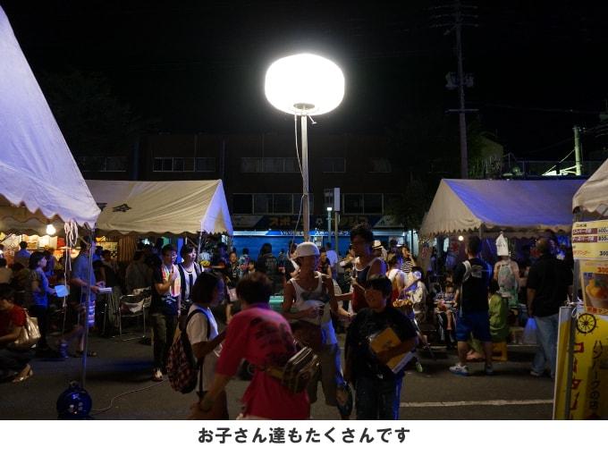 新栄町の飲食ブース・休憩スペース