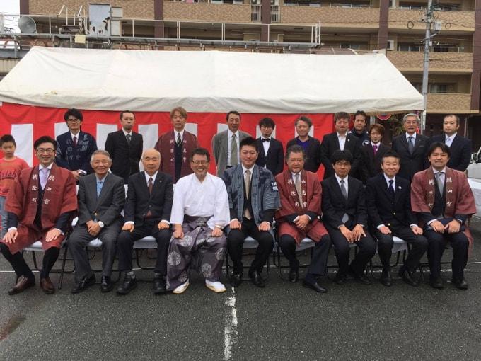 新栄町大蛇山交流プラザ地鎮祭