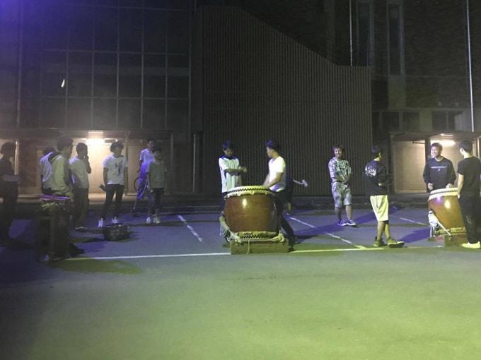 囃子とわ組の練習開始:2017年